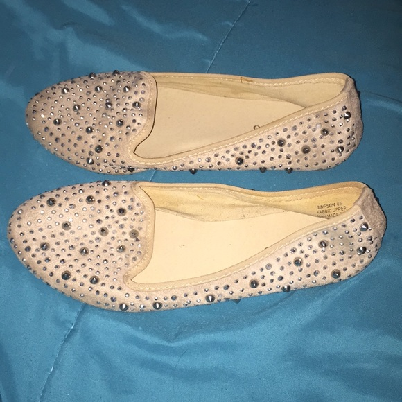 cbdc8f2a4c08 Glitter sparkly shoes ballet flats
